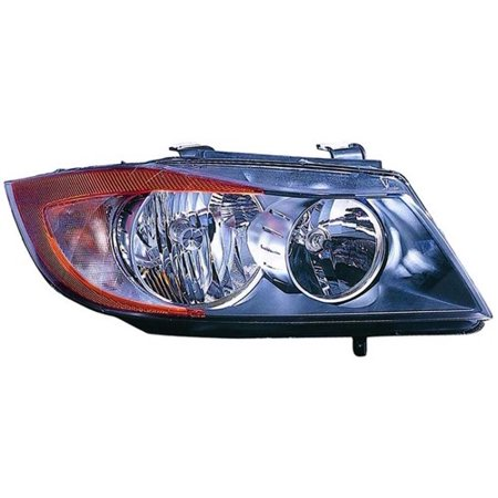 Go-Parts OE Replacement for 2006 BMW 325xi Front Headlight Assembly Housing / Lens / Cover - Right (Passenger) Side - (E90 Body Code; Sedan + E90 Body Code; Wagon + E91 Body Code; Sedan + E91 Body 2001 Bmw 325xi Wagon