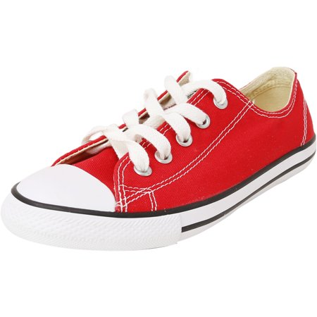 Converse Women's Dainty Ox Varsity Red Low Top Fashion Sneaker - 5M ()