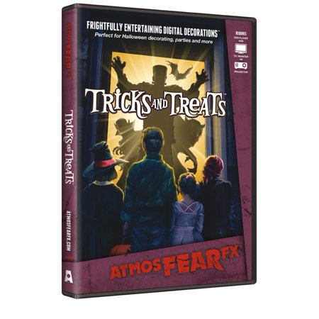 AtmosFearFX Tricks and Treats Digital Decoration Halloween DVD - Halloween Scream Store