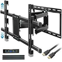 Everstone Corner TV Wall Mount for 26-50 Inch LED,LCD,Plasma Flat Screen,Curved Screen TV Articulating Brackets Tilt Swivel Full Motion