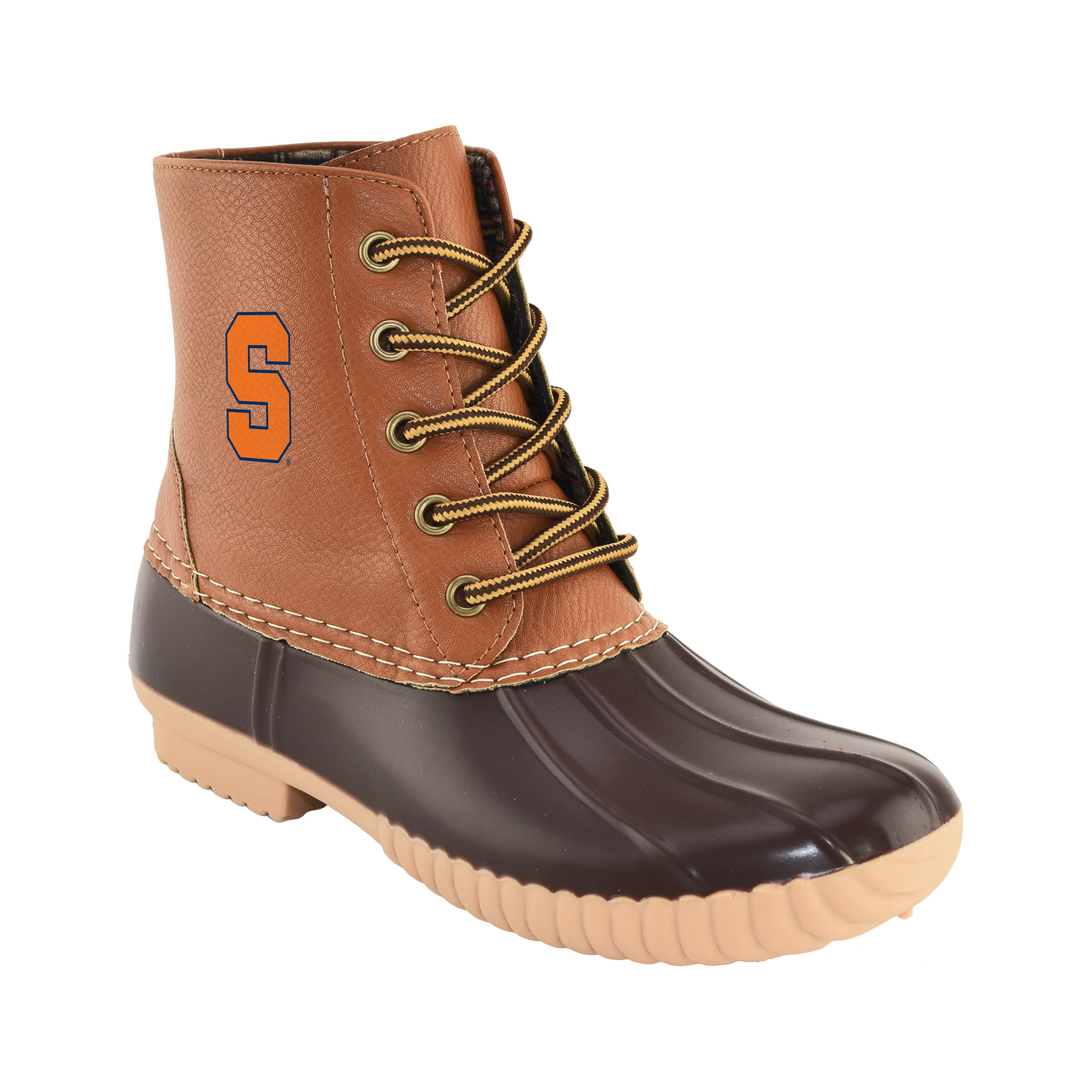 NCAA Women's Syracuse -High Duck Boot by GERNERIC