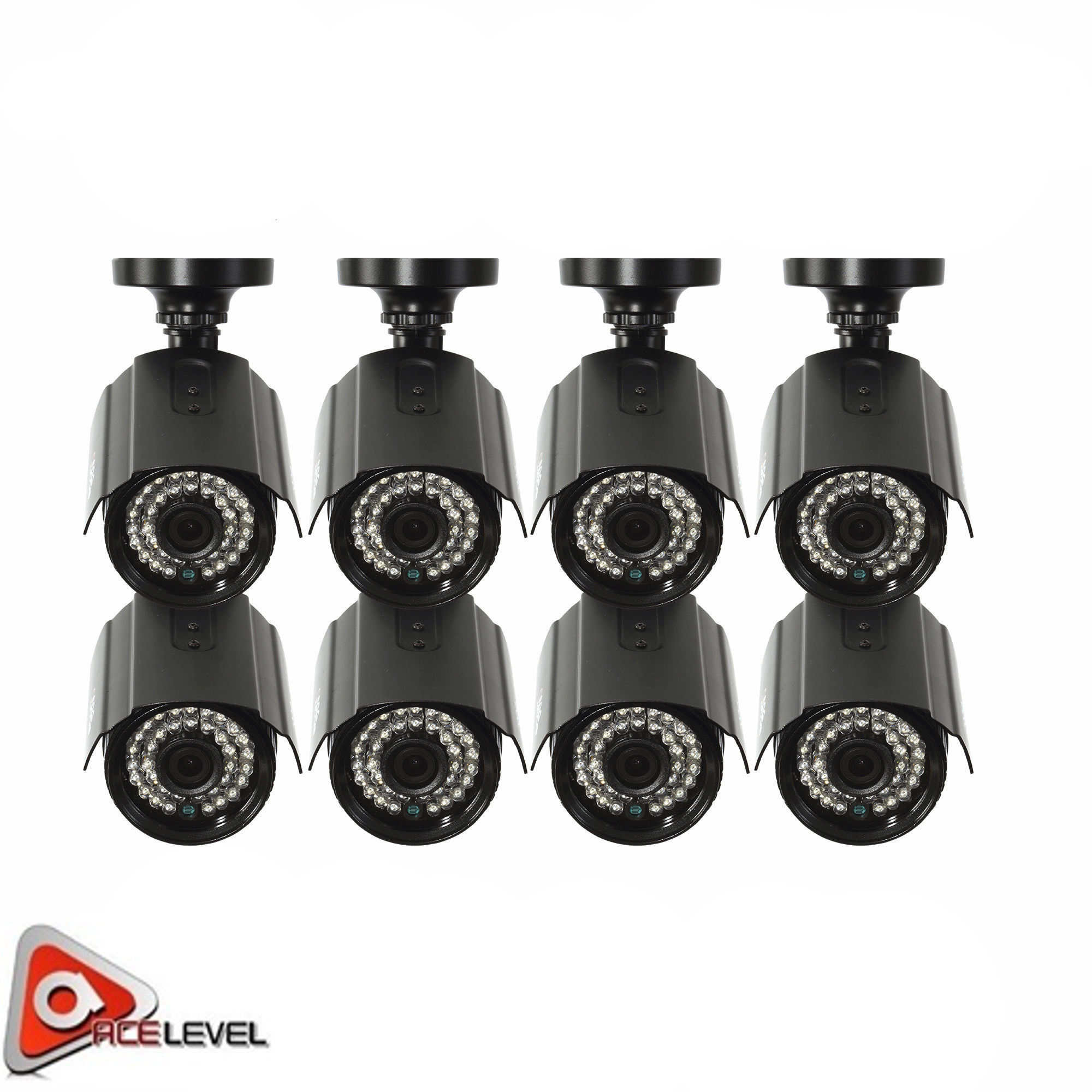 Q-See, 2MP, Bullet Camera, 8 pack