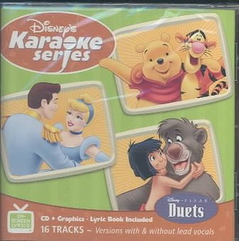 Disney's Karaoke Series: Duets (CD) (Essentials Series Cd)
