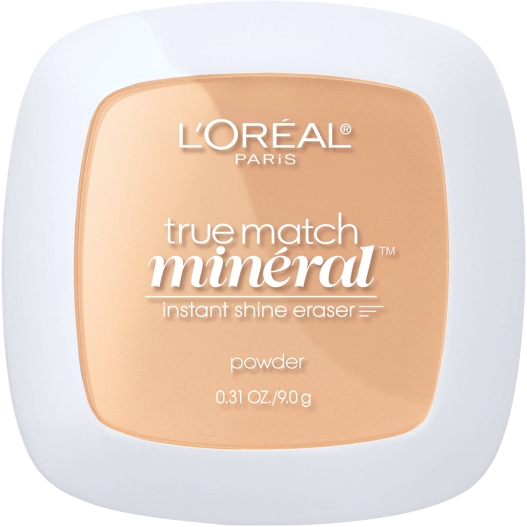 L'Oreal Paris True Match Mineral Shine Eraser Face Powder, 0.31 oz