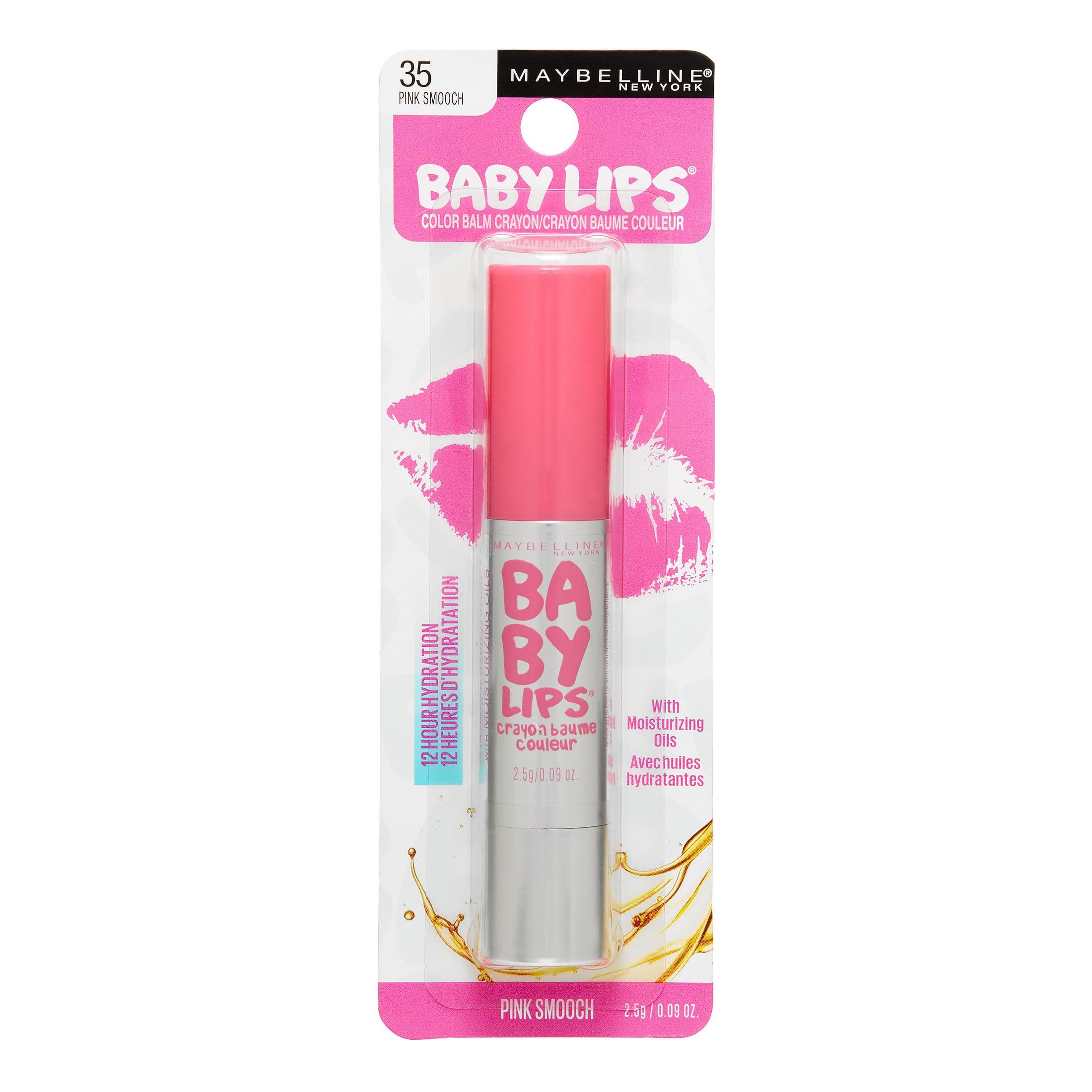 Maybelline New York Baby Lips Color Balm Crayon, Blush Burst ...
