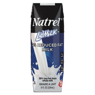 Milk, 2% Reduced Fat Milk, 8 oz Tetra Pack, 18/Carton, So...