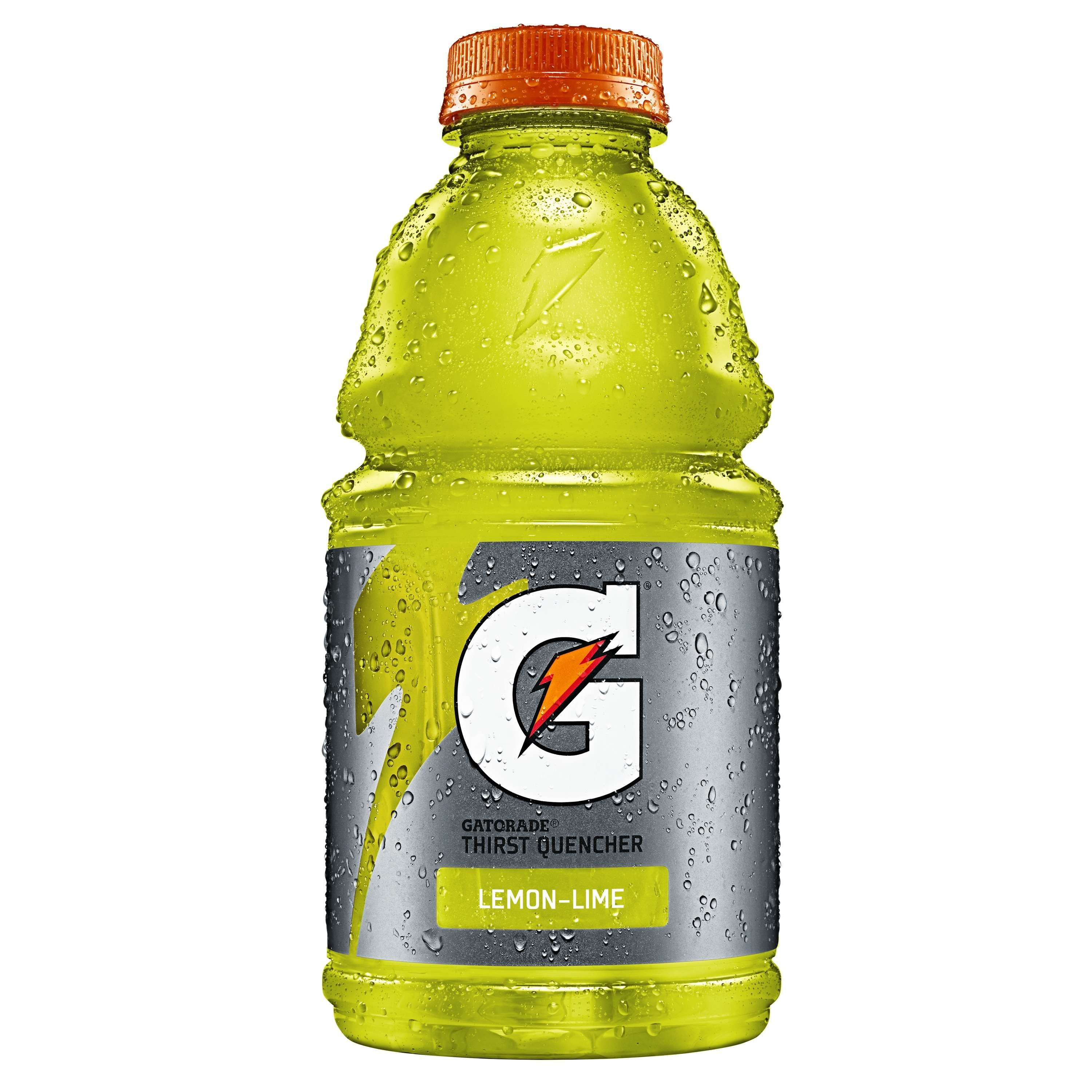 Gatorade Thirst Quencher Sports Drink, Lemon-Lime, 32 Fl Oz, 1 Count