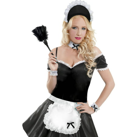 French Maid Accessory Kit Halloween Costume Accessory ...