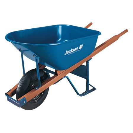 Ames M6T22 6 Cubic Steel Wheelbarrow