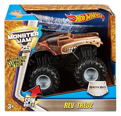 Hot Wheels Monster Jam Rev Tredz Monster Mutt Vehicle - image 1 of 1