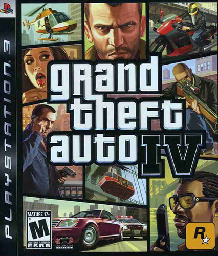Grand Theft Auto IV, Rockstar Games, PlayStation 3, 710425370113 by TAKE 2 INTERACTIVE