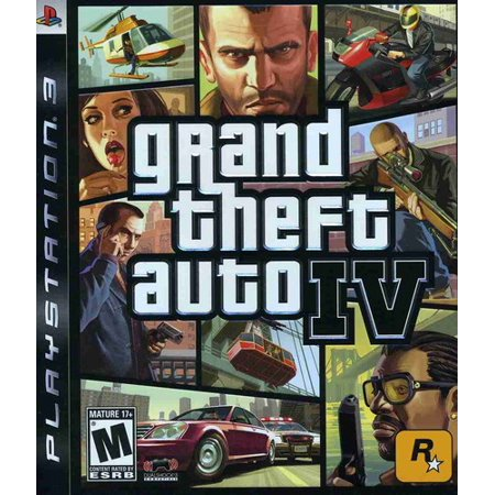 Grand Theft Auto IV, Rockstar Games, PlayStation 3, 710425370113 - Gta 5 No Halloween