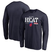 Miami Heat Fanatics Branded Hoops For Troops Long Sleeve T-Shirt - Navy