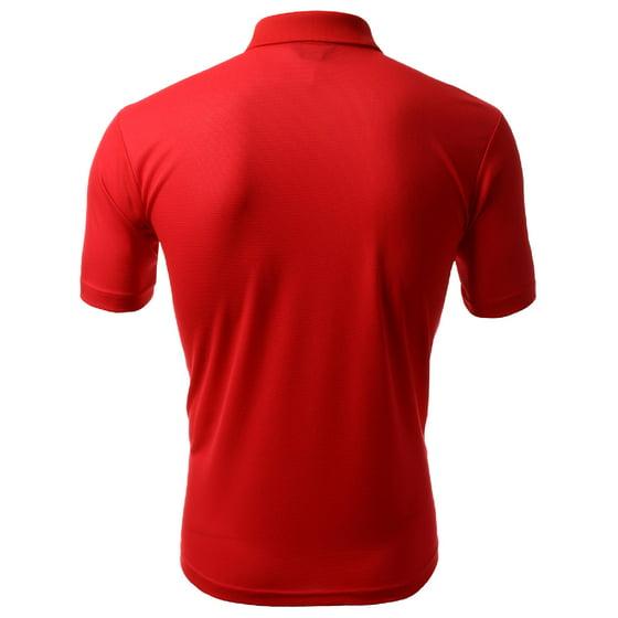 a0724851 FashionOutfit - FashionOutfit Men's Coolever Premium Sporty Polo T-Shirts -  Walmart.com