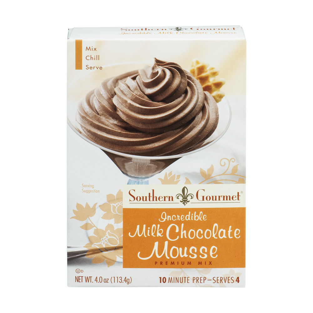 Southern Gourmet Premium Mix Incredible Milk Chocolate Mousse, 4.0 OZ by Kent Precision Foods Group, Inc.