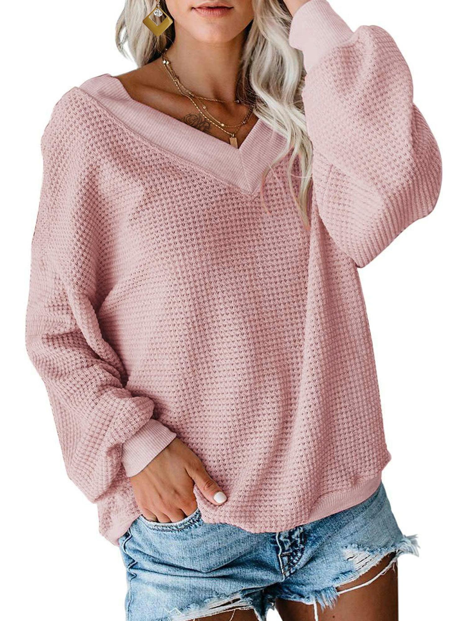 UK Womens Polka Dot Pullover Holiday Ladies Shirt Tee Blouse Casual Loose Tops