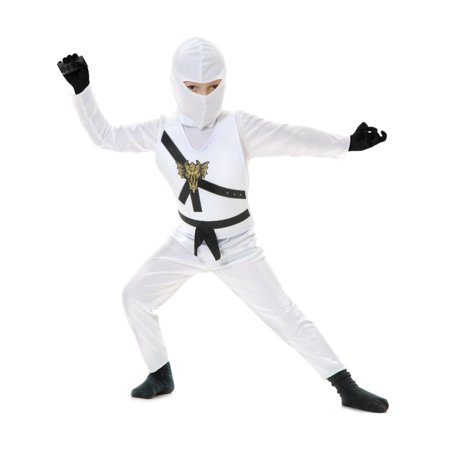 Child White Ninja Avengers Series 1 Costume