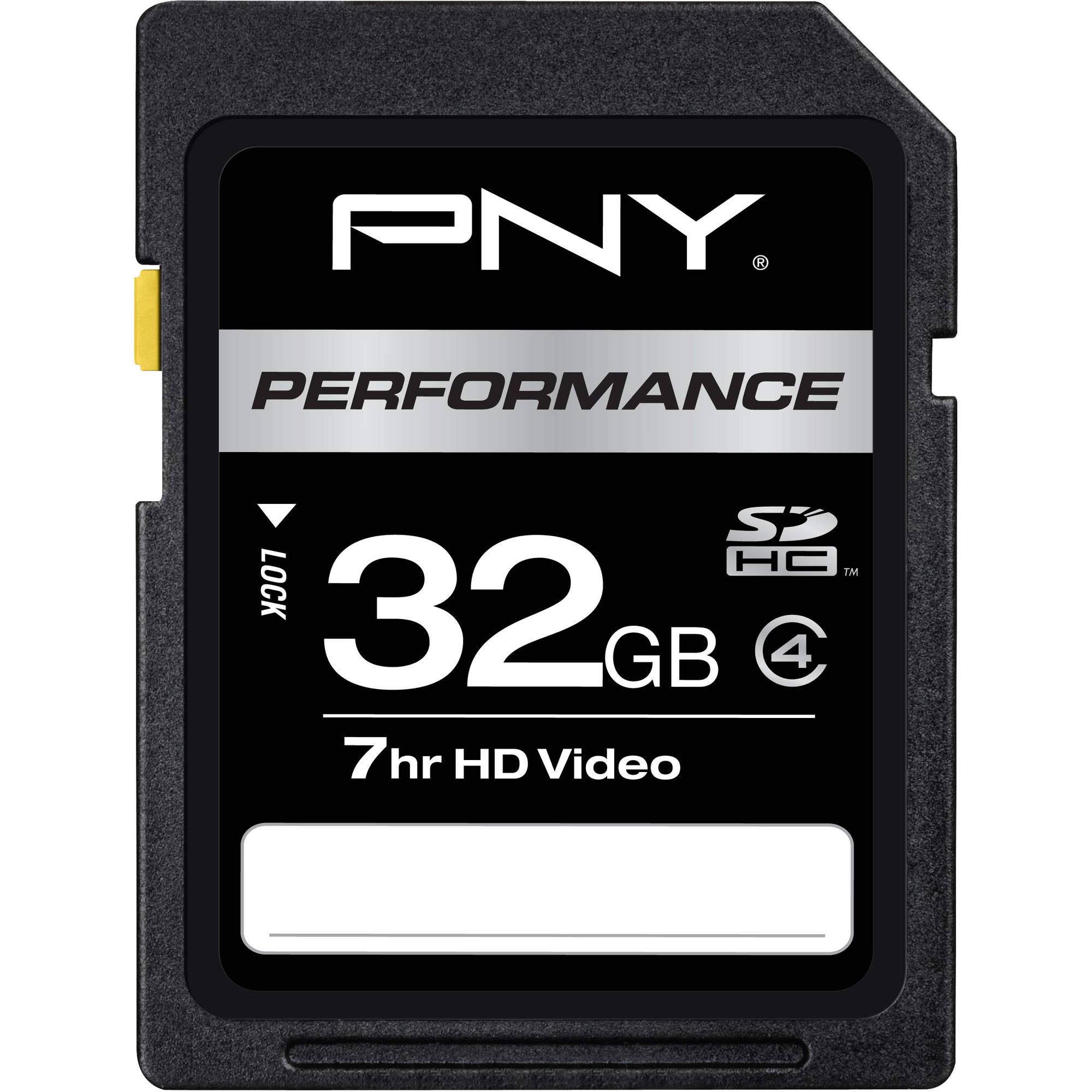 PNY Technologies 32GB Class 4 SDHC Card