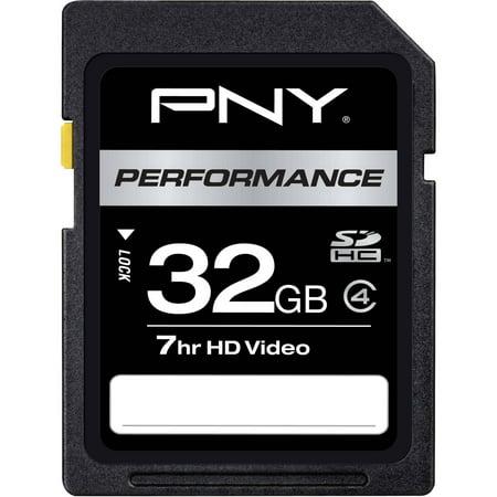 pny 32 gb class 4 sdhc flash memory card