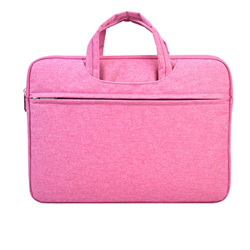 15.6 Inch Computer Bags Laptop cases Notebook Tablet Bag Durable Pink Color