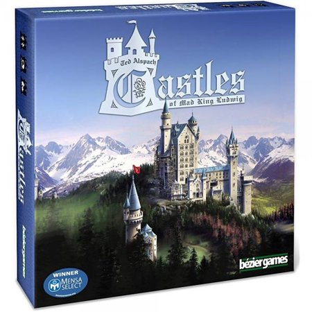 Bezier Games Castles of Mad King Ludwig (Halloween Kings Game)
