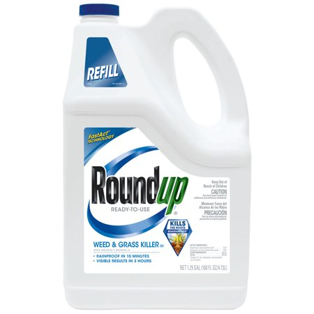 Roundup Ready-To-Use Weed Killer Bundle With (Weed Leaf Outline)