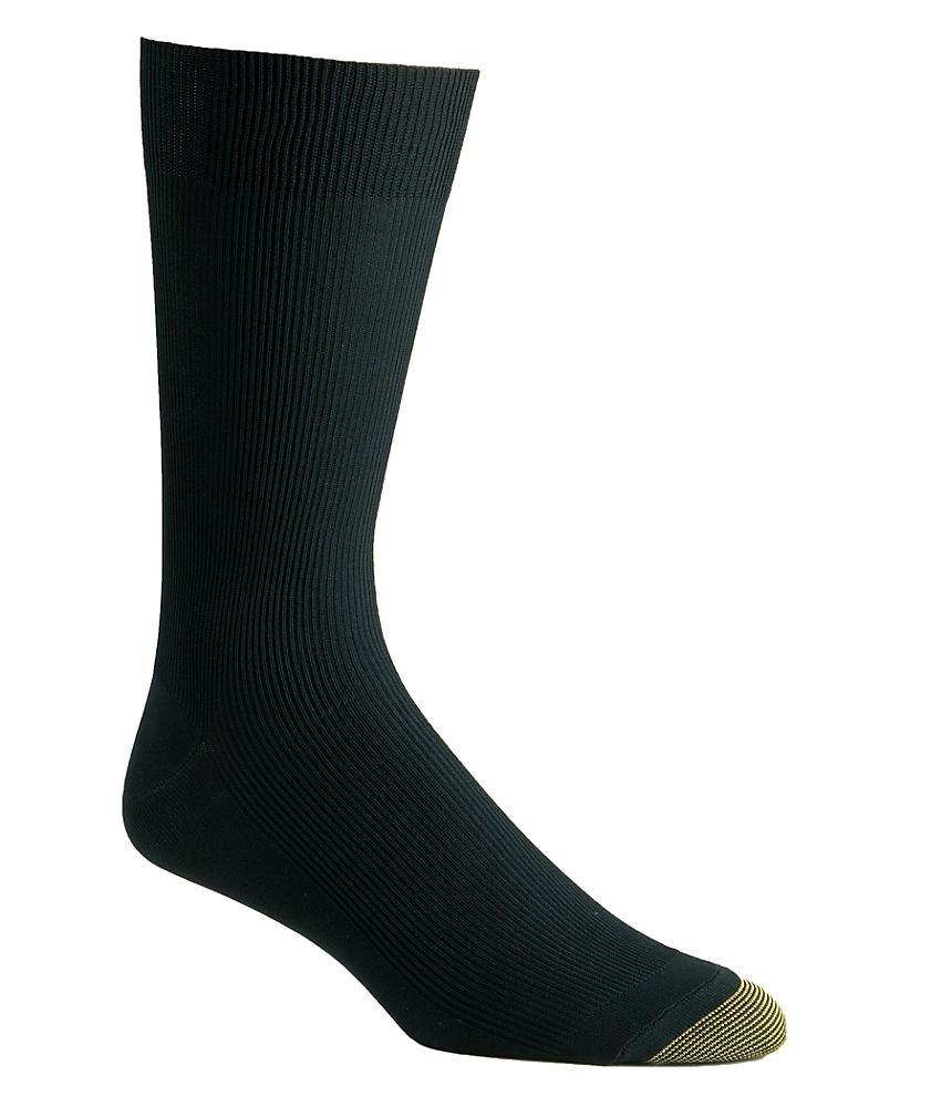 Gold Toe Men's Gold Toe Dress Nylon Light Metropolitan Crew Sock