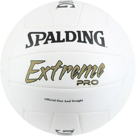 Spalding Official Size & Weight Extreme Pro Volleyball, White
