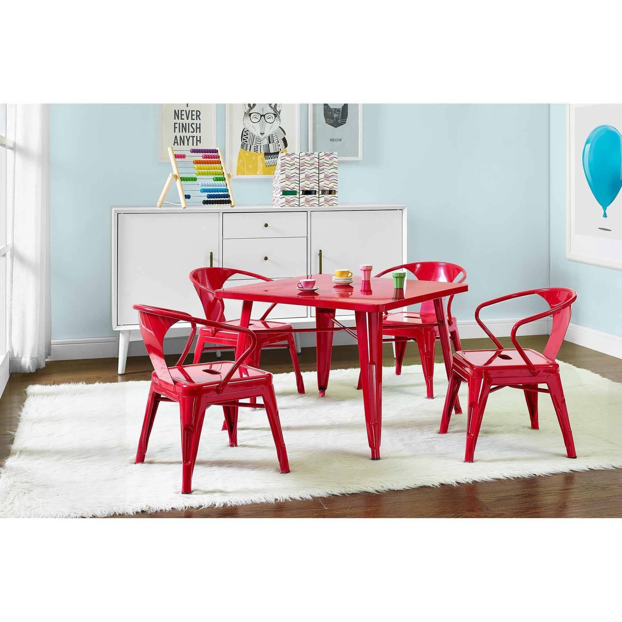 Better Homes And Gardens Kidsu0027 Metal Table, Multiple Colors   Walmart.com