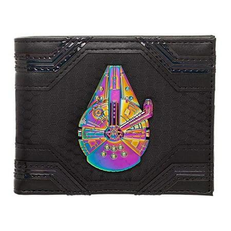 Star Wars Han Solo Kessel Millennium Falcon Bi-Fold Wallet