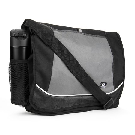Universal Multi-purpose Canvas Messenger Shoulder Bag fits 15, 15.6, 16 inch Laptops / Notebooks / Ultrabooks - Keen Laptop Bag