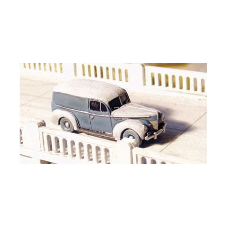 GHQ 57014 N Ford (Unpainted Metal Kit) 1940 Ford Panel Truck