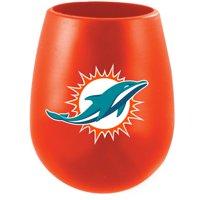 Miami Dolphins Silicone Stemless Tumbler