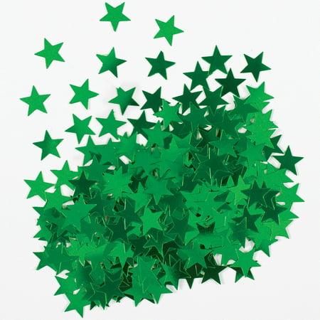 Metallic Star Confetti (Metallic Green Star Confetti )