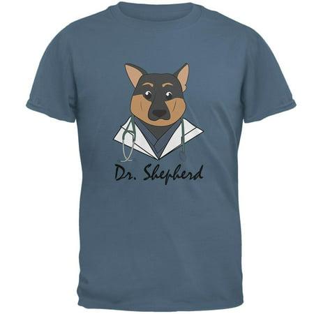 (Doctor Shepherd German Dog Funny Cute Mens T Shirt)