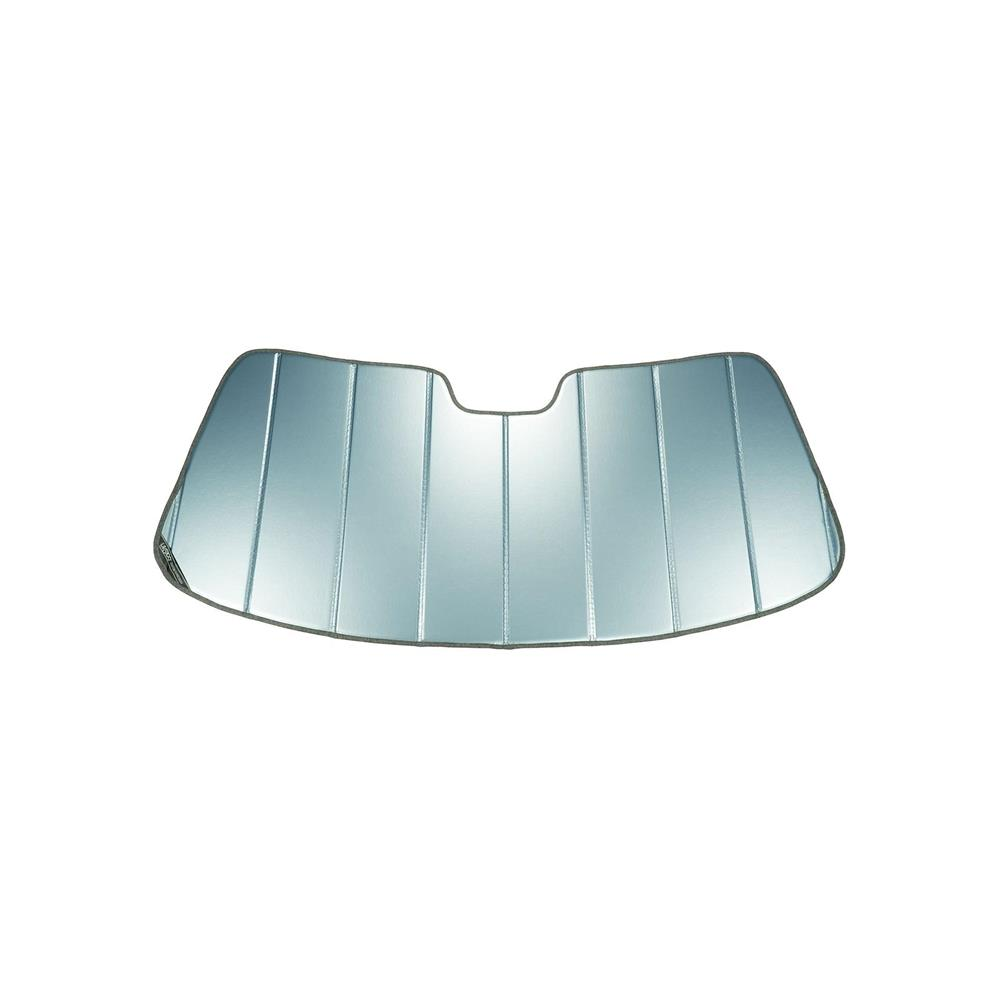 Series Heat Shield Custom Fit Windshield Sunshade for Select Ford Focus Models Covercraft UVS100 Laminate Material Silver