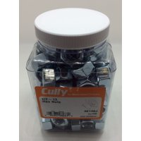Cully 40140J 1/2-13 Zinc Plated Hex Nut (100-Pack)