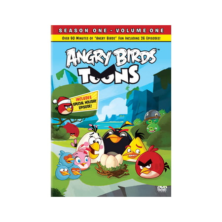 Angry Birds Seasons Halloween Games (Angry Birds Toons: Season 1, Volume 1)