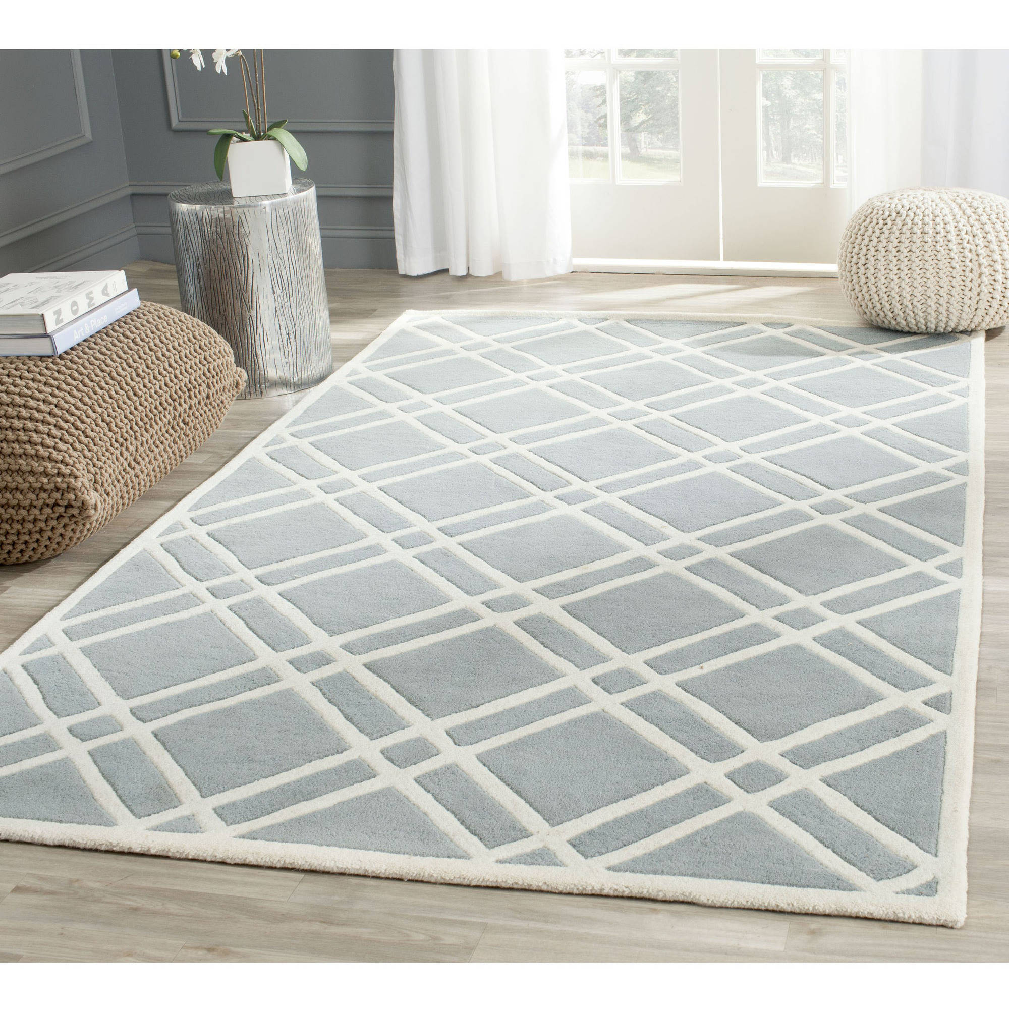 Safavieh Chatham Gary Hand Tufted Wool Area Rug