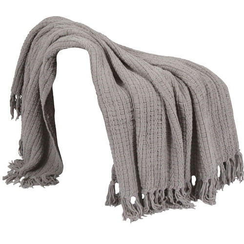 BOON Throw & Blanket Space Yarn Knitted Throw Blanket