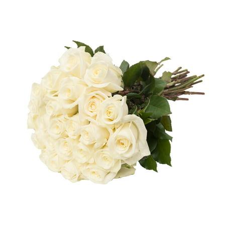 Bloomingmore flowers 24 farm fresh white roses gift walmart bloomingmore flowers 24 farm fresh white roses gift mightylinksfo