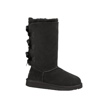 1007309K - Kids Bailey Bow Tall 1 Kid / Black](Bailey Bow Kids Uggs)