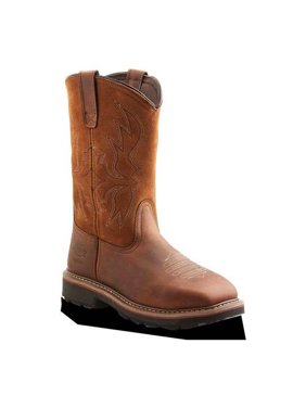 Dickies Stockyard Square Toe Steel Toe Wellington Boots (Men)
