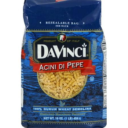 Da Vinci 11 Light ((11 Pack) DaVinci Acini Di Pepe Pasta, 16.0 OZ )