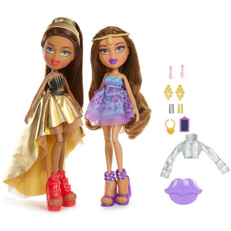 Bratz metallic madness 2 pack style 1 yasmin sasha Bratz fashion look and style doll