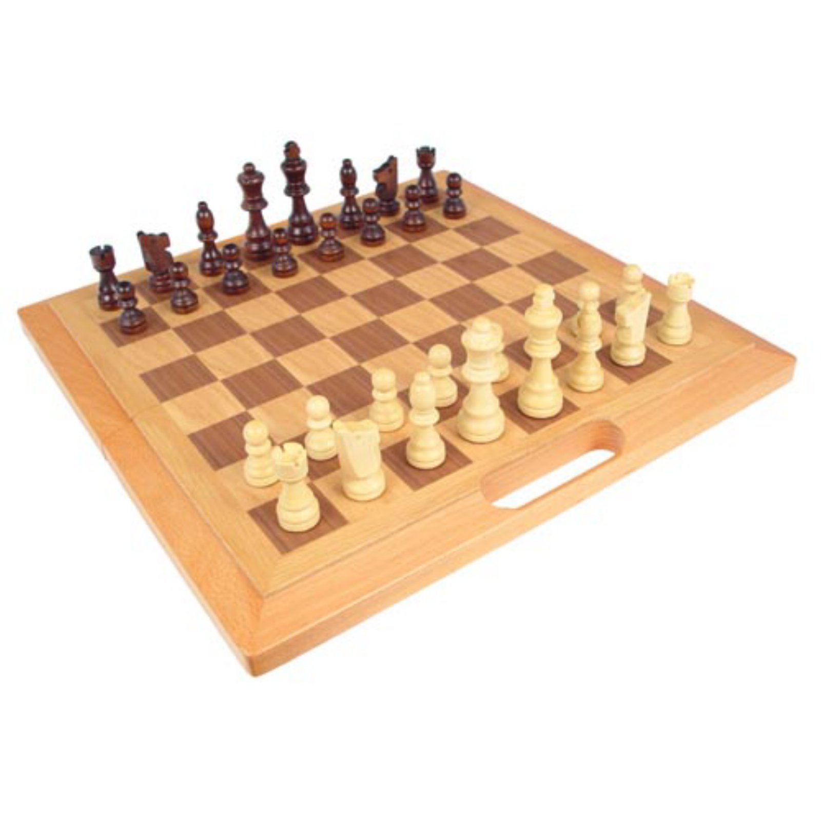 Carry Along Wooden Chess Set by CHH Quality Product Inc