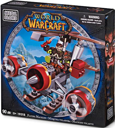 Mega Bloks World of Warcraft Flying Machine Set #91018 by Mega Brands