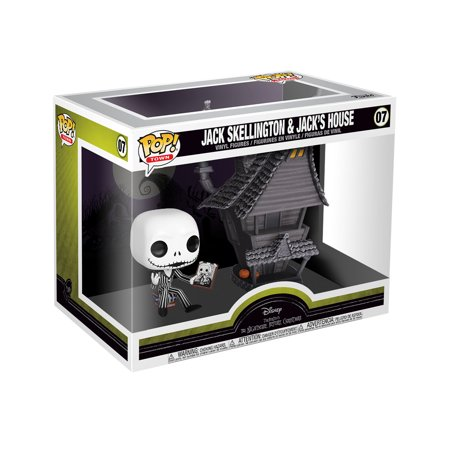 Funko POP! Town: The Nightmare Before Christmas - Jack W/ Jack's House