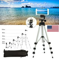 Professional Retractable Portable Camera Tripod Stand for Canon DSLR Cell Phone