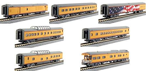 Kato N #106-086 Excursion Train 7-Car Set, Union Pacific Multi-Colored by Kato